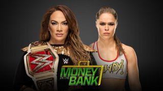 WWE PPV マネー・イン・ザ・バンク ロンダ・ラウジー 王座 初挑戦
