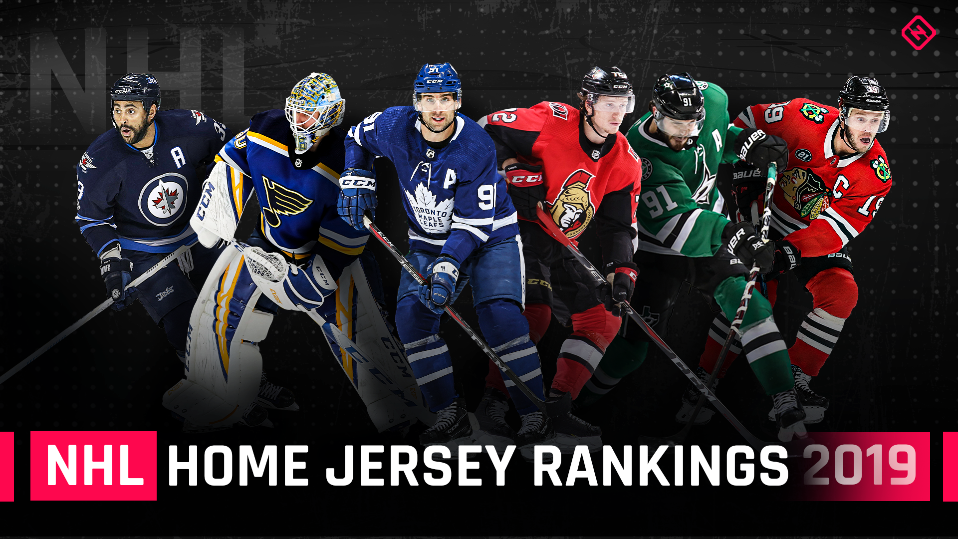 promo code 5fdb1 a3298 NHL home jersey rankings: The best and worst looks for 2019 ...