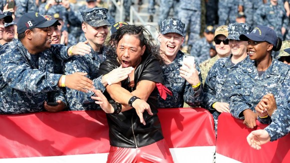 Nakamura HL Tribute to the Troops