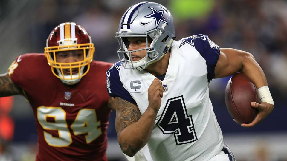 Week 7 NFL picks against spread: Cowboys rip Redskins; Chiefs handle Bengals