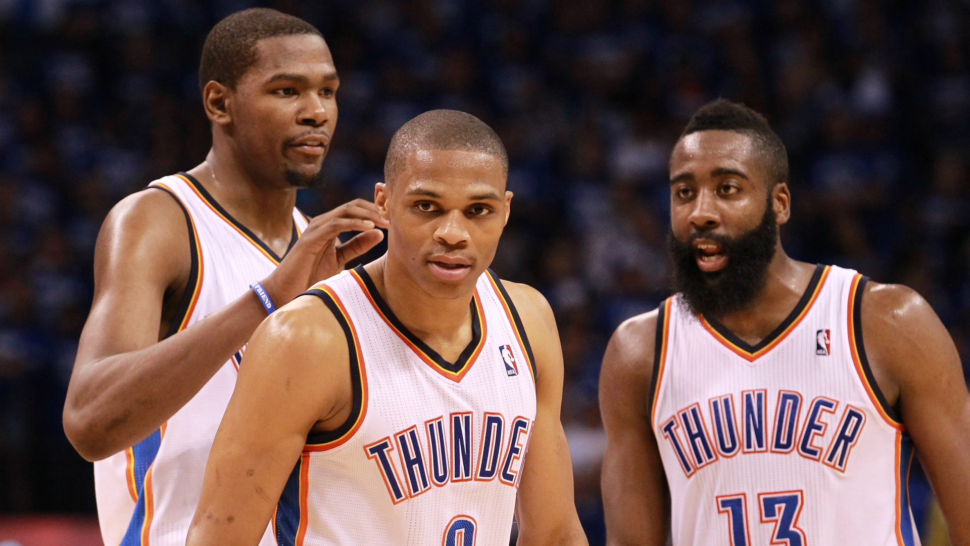 18fc4d9a1c33 How a massive miscalculation broke up Thunder s Westbrook-Durant-Harden  dynasty