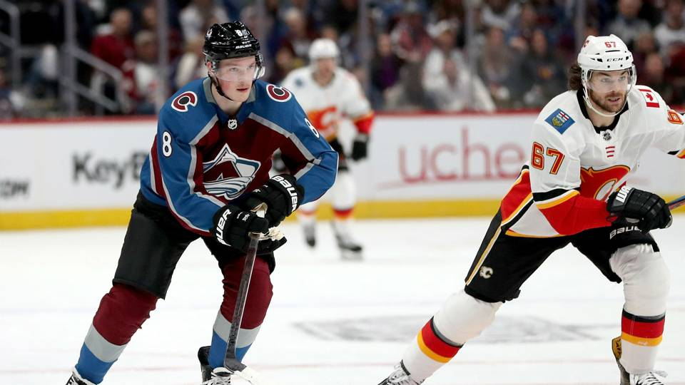 NHL playoffs 2019: Cale Makar notches goal in debut as Avs rout Flames