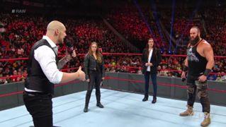 WWE, ロウ, #1329, 冒頭