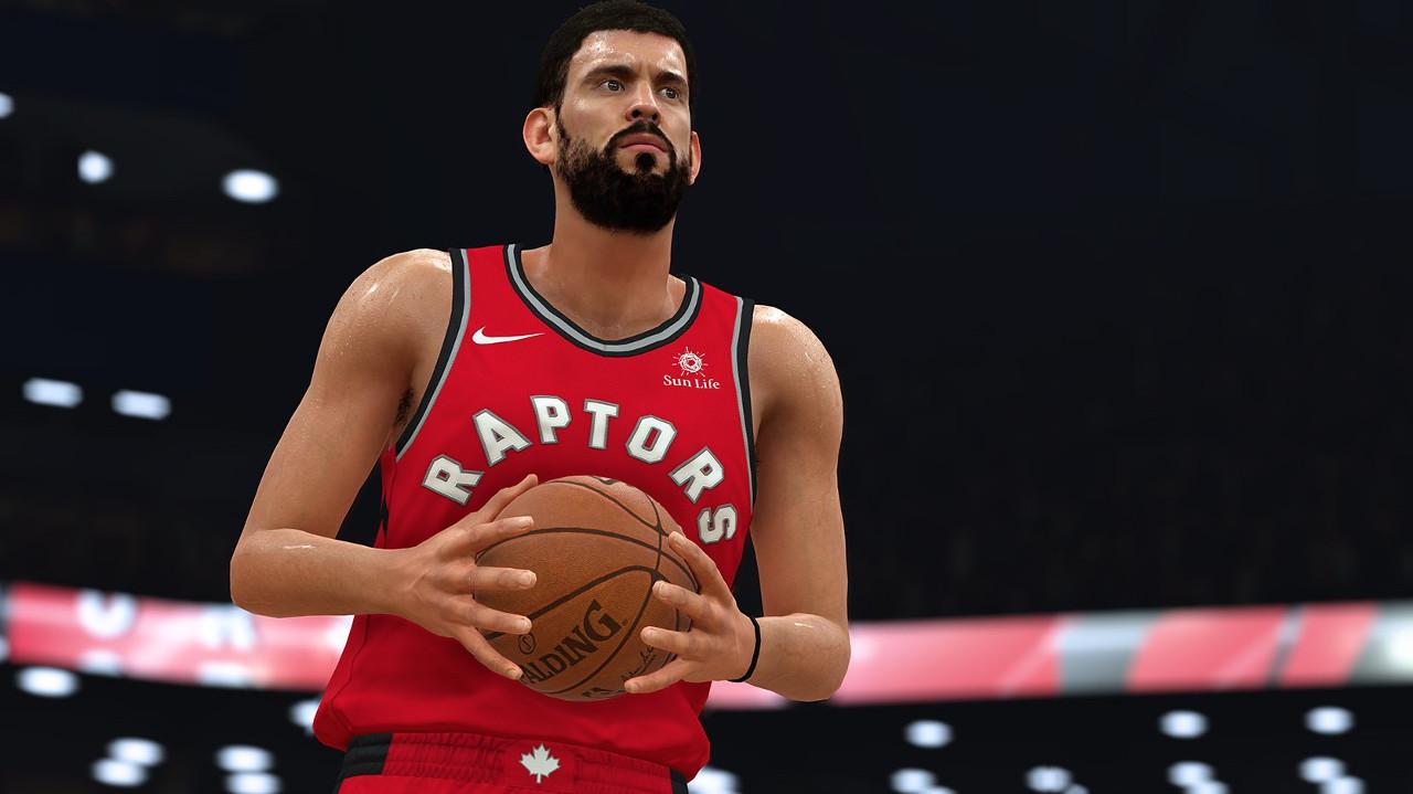 NBA 2K19 Marc Gasol Toronto Raptors
