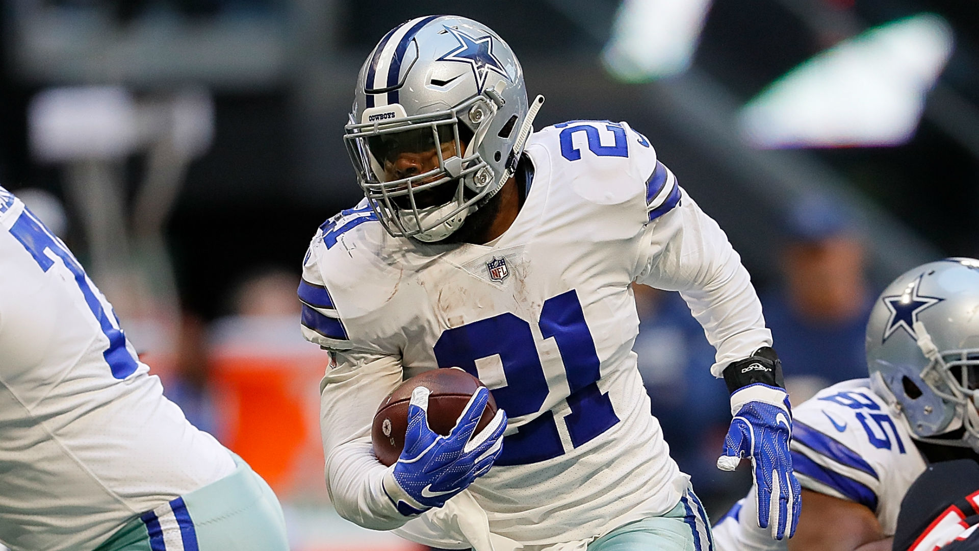 new styles c4d78 5713a Why is Ezekiel Elliott holding out? Cowboys contract details ...