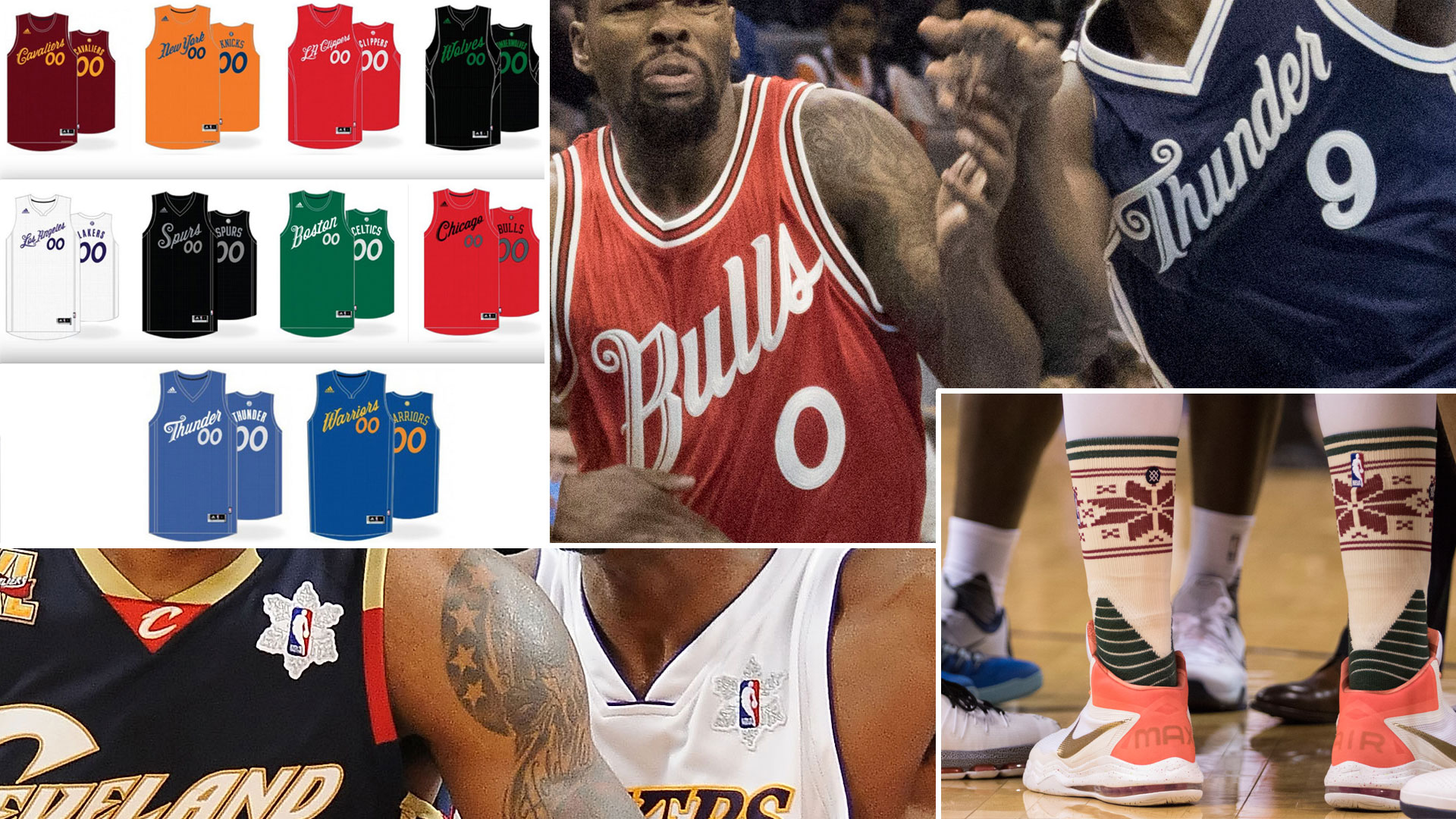 c03612aa629c NBA gifts us with second straight year of great Christmas Day jerseys