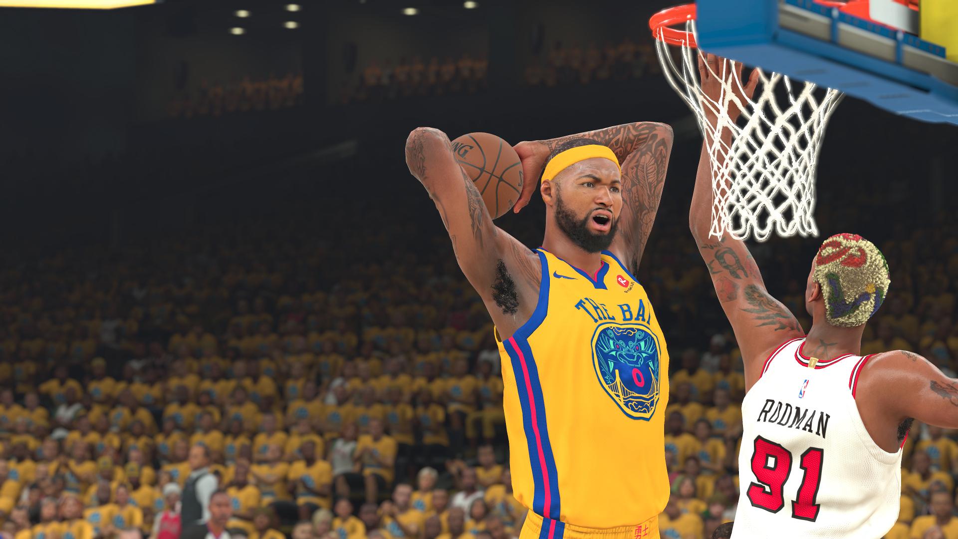 NBA 2K DeMarcus Cousins Golden State Warriors