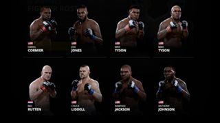 EA Sports UFC 2 Light Heavyweights