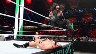 WWE グレーテスト・ロイヤルランブル アンダーテイカー 棺桶戦