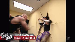 WWE 壁破壊 ブロック・レスナー