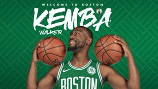 Boston Celtics Kemba Walker