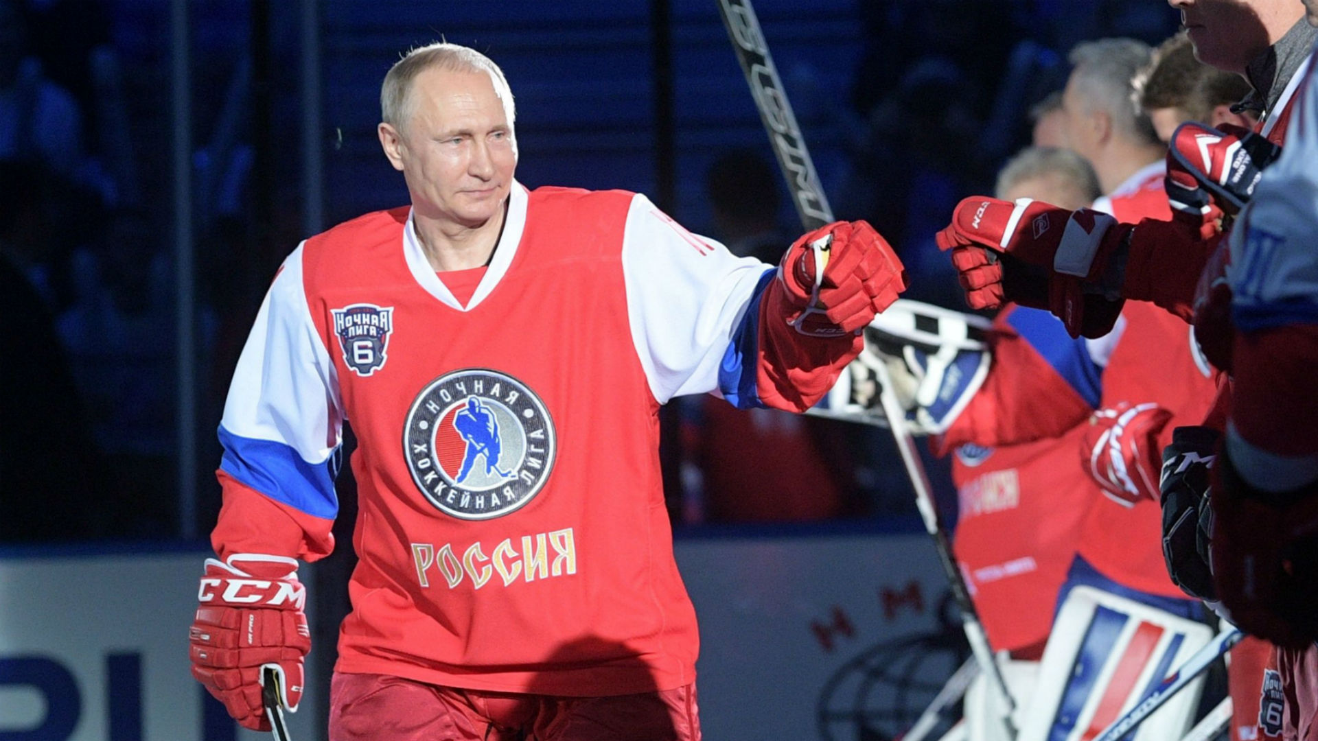 Capitals' Alex Ovechkin starts 'Putin Team' social movement to back Kremlin leader