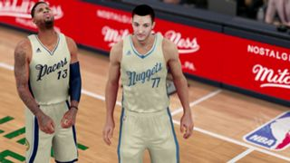 NBA 2K16 Christmas Nuggets Pacers
