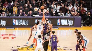 Column3-header-MSP_0005 Thunder vs Lakers, Photo by Mami Yasui/NBA Japan