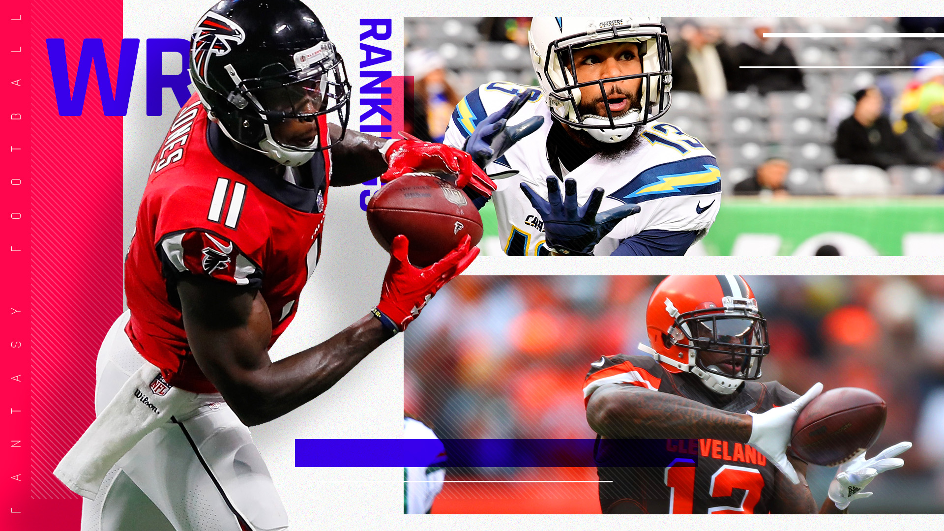 Fantasy Football Rankings 2018: Wide Receiver | Sporting News