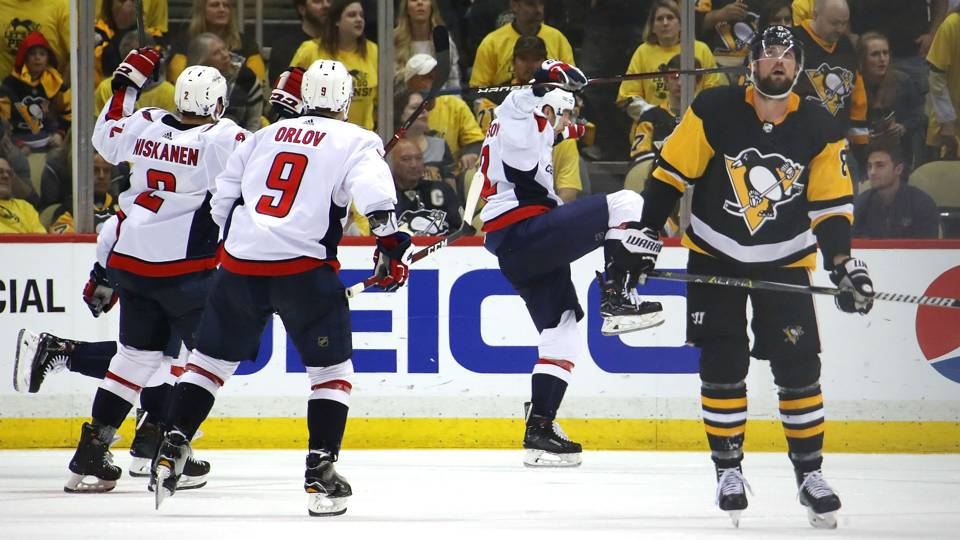 F-bombs, Evgeny Kuznetsov fly after Capitals 'lastly' overcome Penguins, themselves