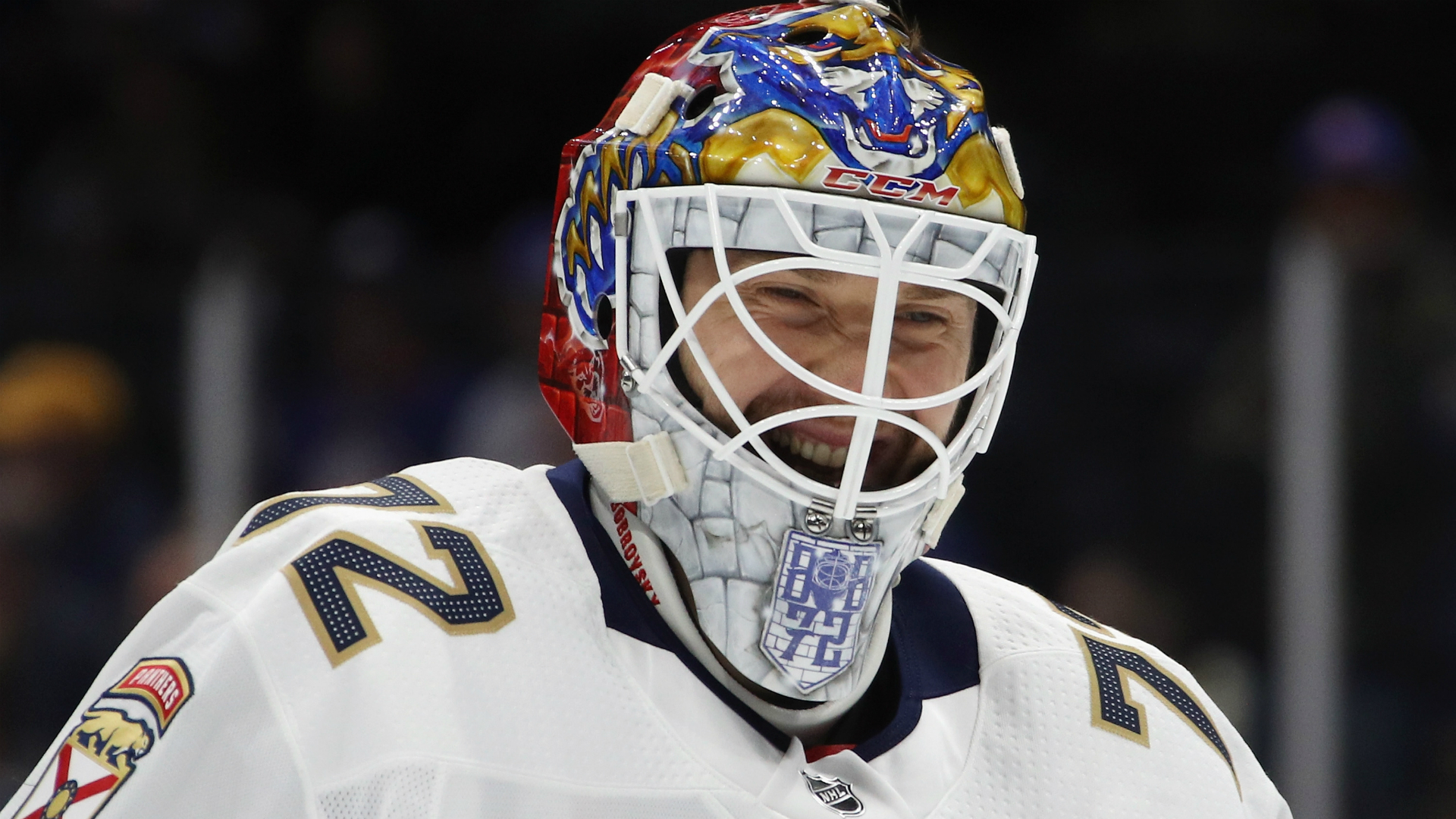 Florida Panthers' Sergei Bobrovsky records first shutout with new team vs. Red Wings