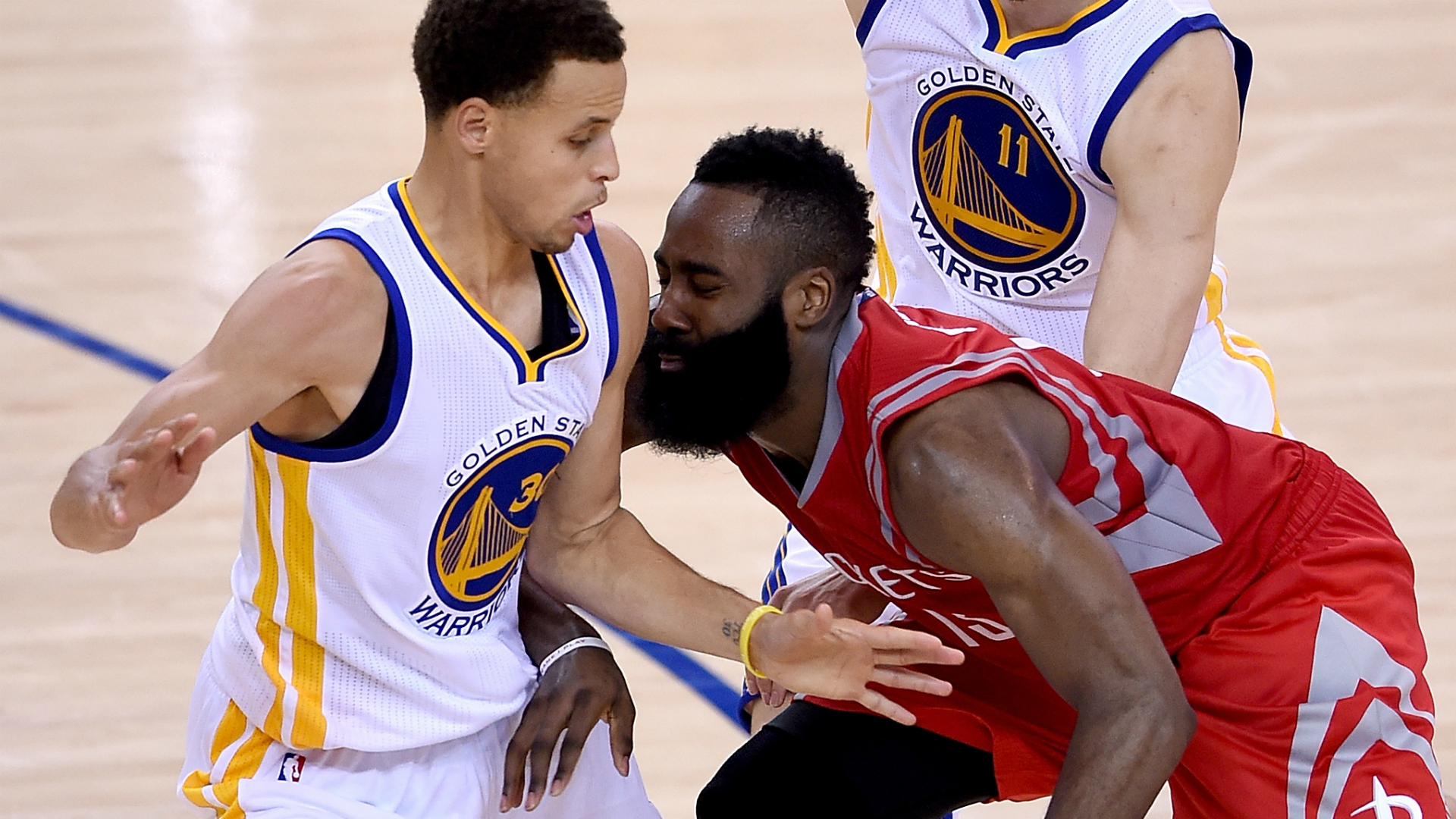 5601ebd77b14 James Harden is kicking chairs  The anatomy of Game 2 s wild final play