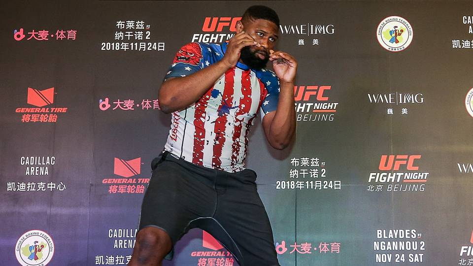 Joining the Elevation Fight Team in Denver has Curtis Blaydes feeling unstoppable