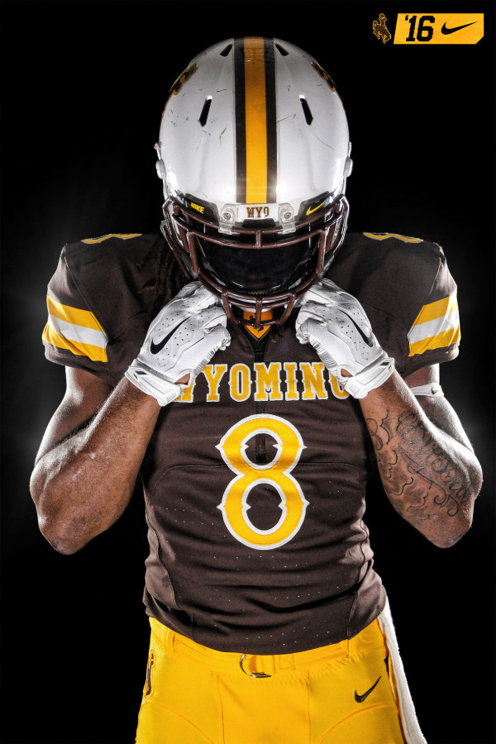 buy online 71737 1501a Wyoming unveils Nike Mach Speed uniforms for 2016 season ...