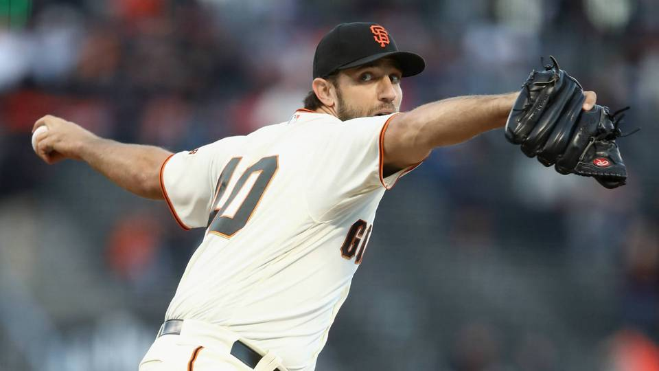 Madison Bumgarner's iconic delivery on point, even as spring results lag