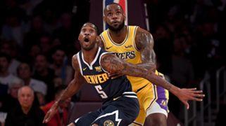 LeBron James Lakers Will Barton Nuggets
