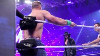 WWE レッスルマニア34 アンダーテイカー ジョン・シナ 復活 引退