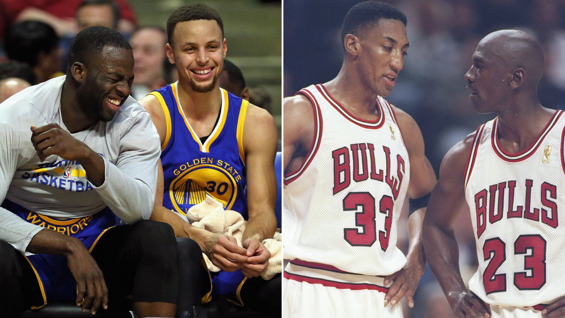 big sale 96e95 eecea Stephen Curry and Draymond Green are having a Jordan-and ...