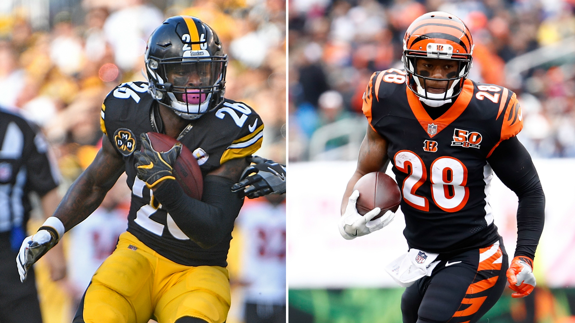 Bengals RB Joe Mixon 'not worried' about tweets from Le'Veon Bell