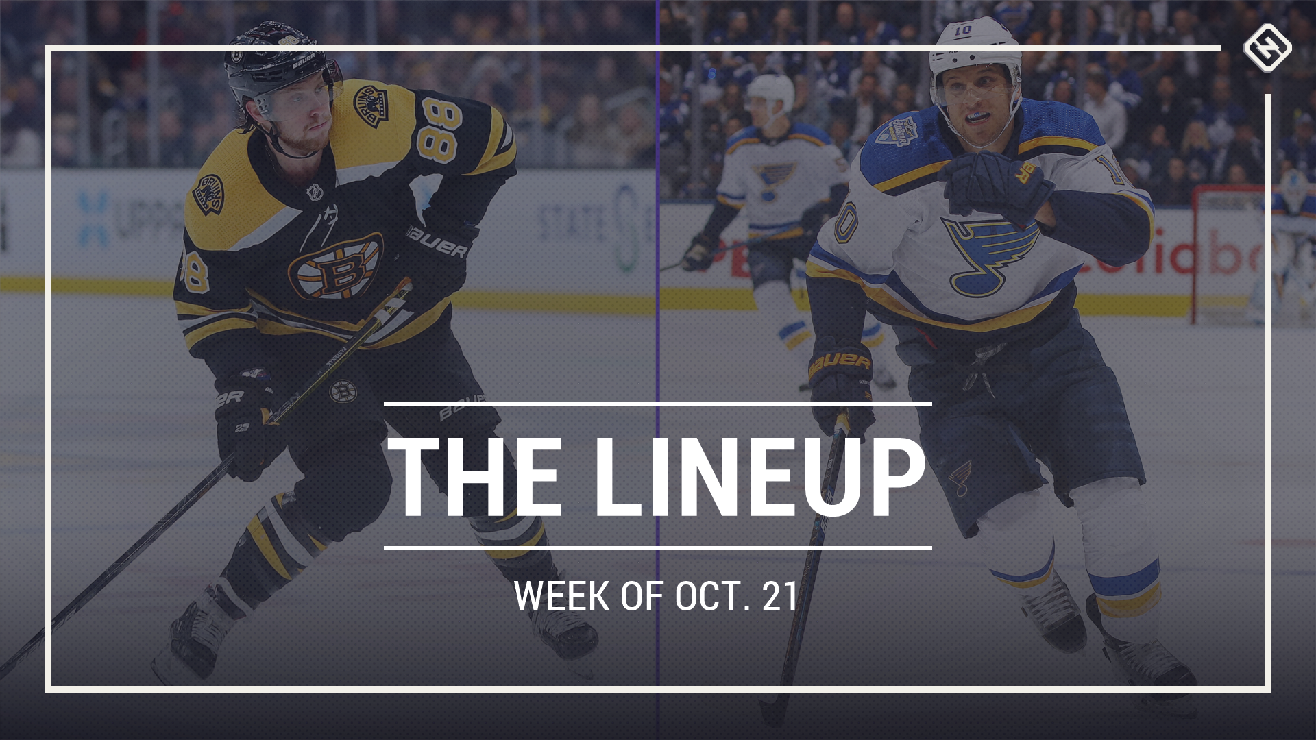 The Lineup: Boston Bruins, St. Louis Blues meet in Stanley Cup Final rematch in week of Oct. 21