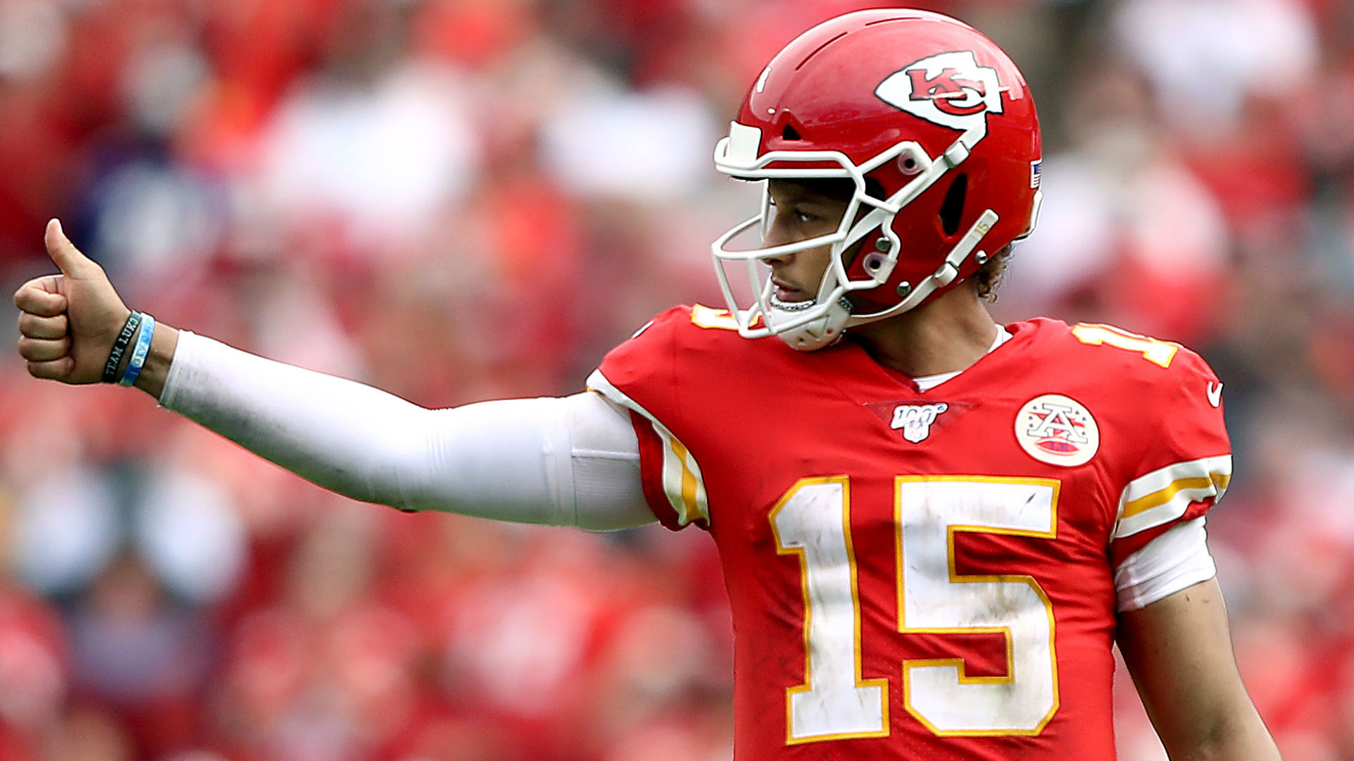 Chiefs' Patrick Mahomes, improved from MVP form, set up for best passing season in NFL history