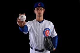 Yu Darvish 2018 Cubs