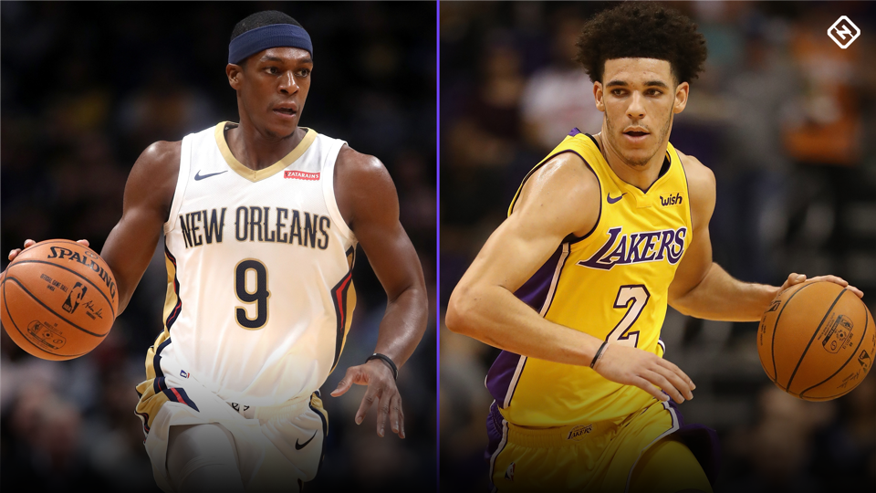 Lakers' Rajon Rondo saying all right things about Lonzo Ball