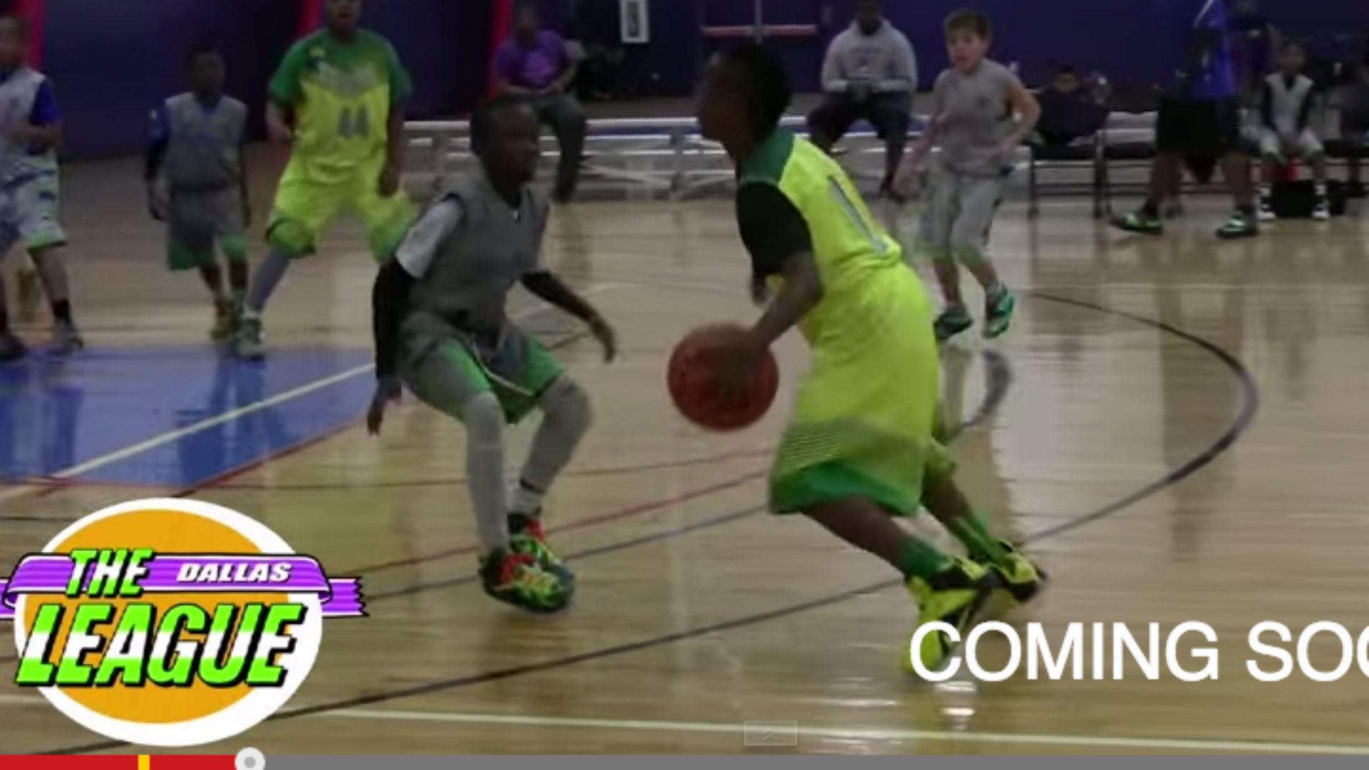 94a6911965b3 LeBron James Jr. shows off crazy court vision