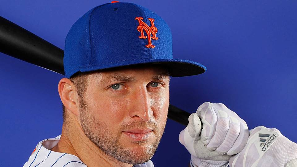 Tim Tebow has his 'Welcome to the Mets' second: a freak spring training injury