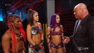 WWE ロウ #1306 女子MITB 前哨戦