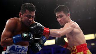 Sor Rungivisai punching Roman 'Chocolatito' Gonzalez