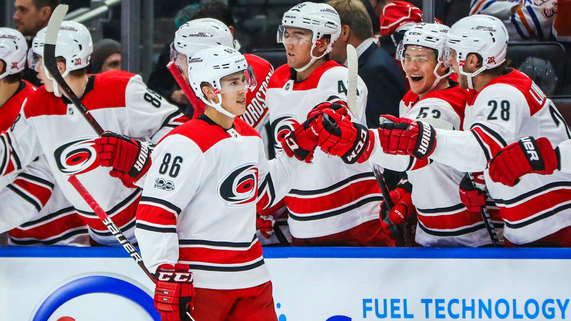 Teravainen scores natural hat trick to lead Hurricanes in win over Stars