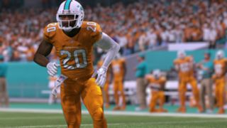 Color Rush Miami Dolphins Madden NFL 17