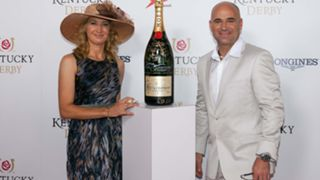 Steffi Graf and Andre Agassi