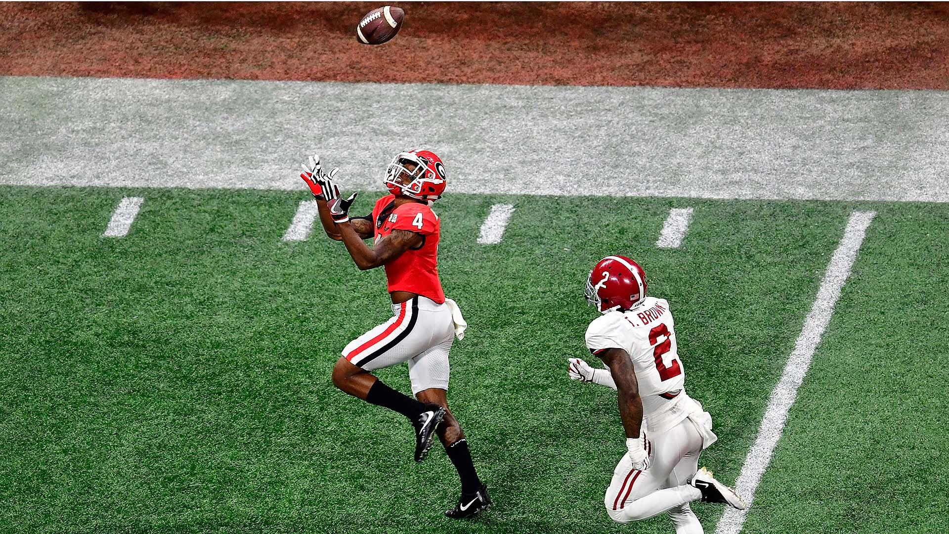 Mecole Hardman touchdown