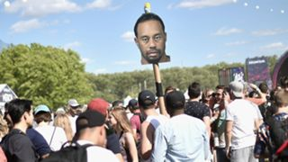 Tiger Woods sign