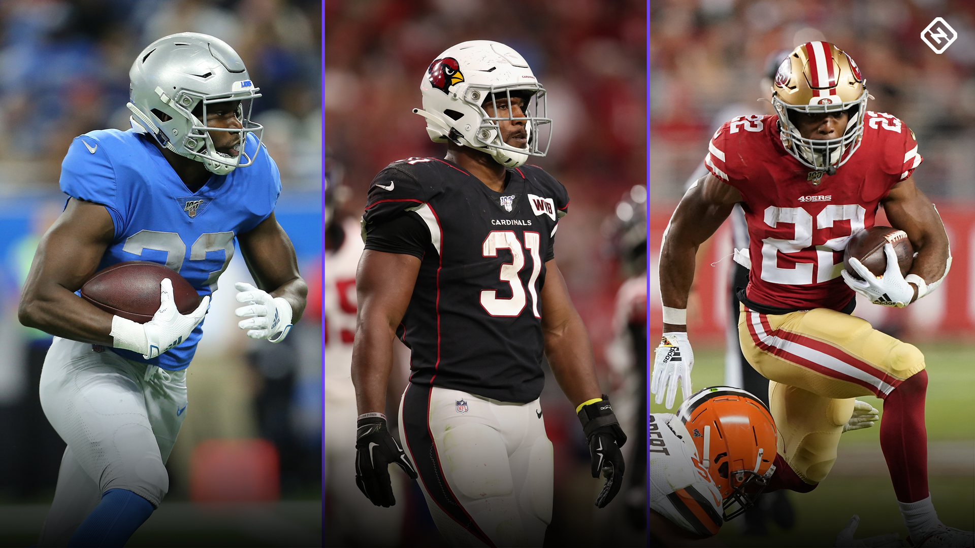 Fantasy Injury Updates: Kerryon Johnson, David Johnson, Matt Breida affect Week 8 RB rankings