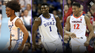 Coby White-Zion Williamson-De'Andre Hunter-031719-GETTY-FTR