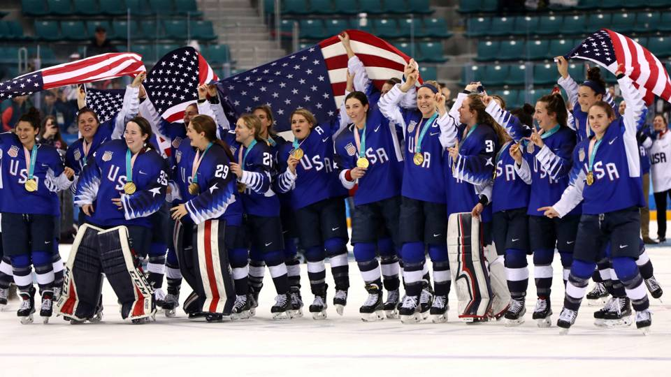 Protest planted seeds for U.S. women's hockey gold, will keep flowering later