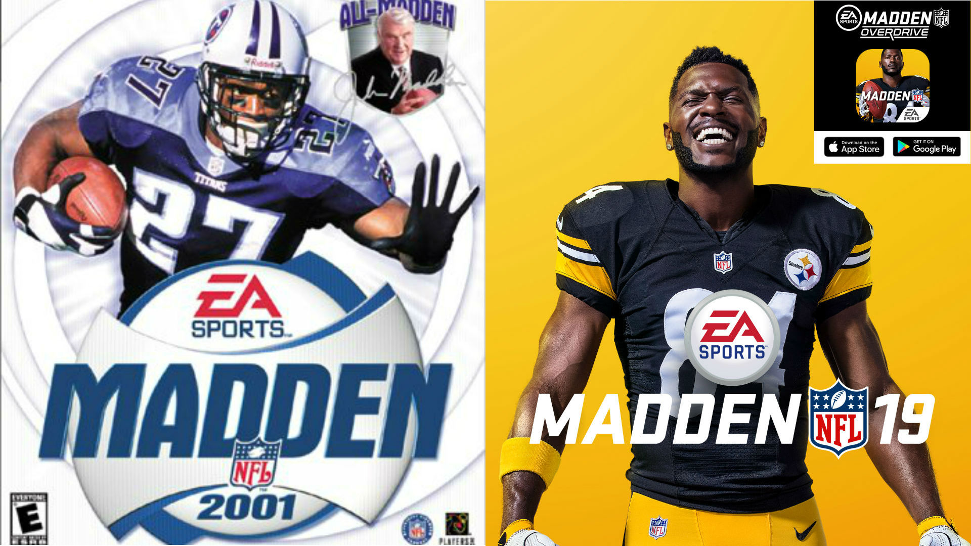 Madden' cover athletes since 2000: From Eddie George to