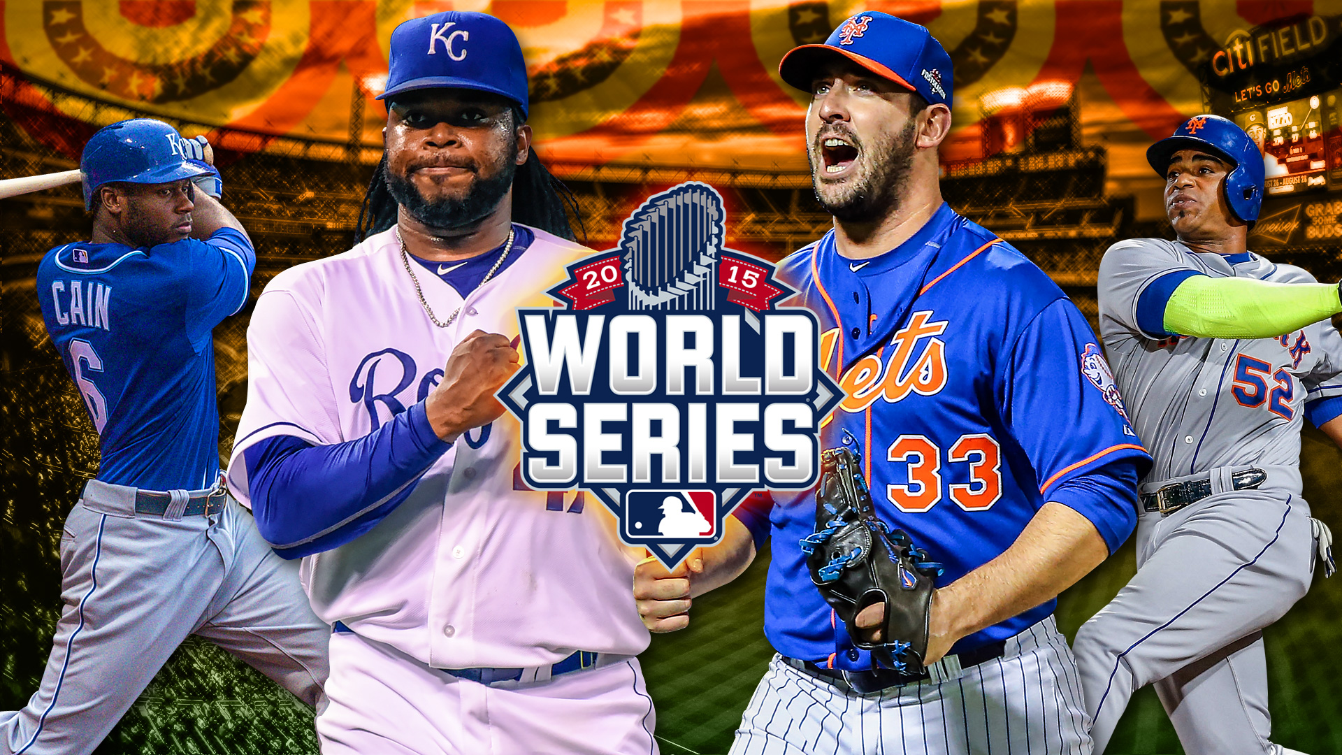 World Series 2015: Royals-Mets TV Schedule, players to watch