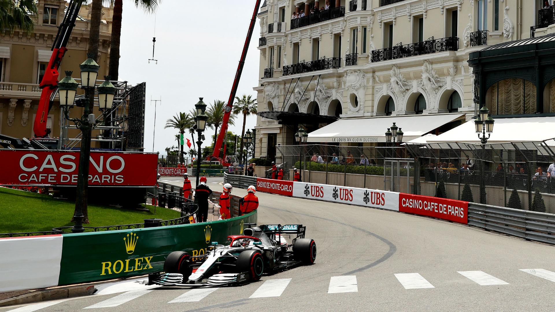 F1 Qualifying Monaco