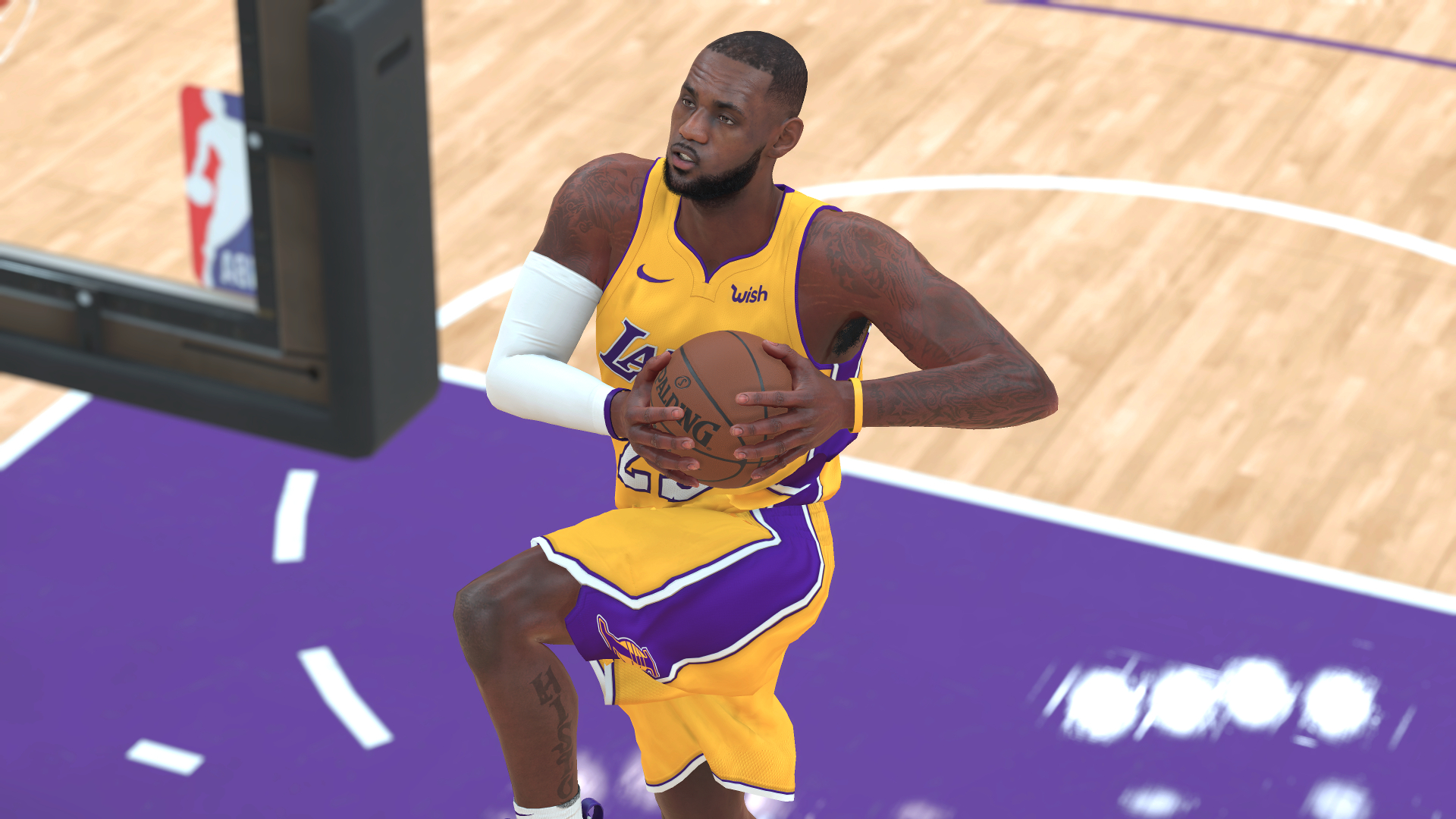 LeBron James Los Angeles Lakers NBA 2K