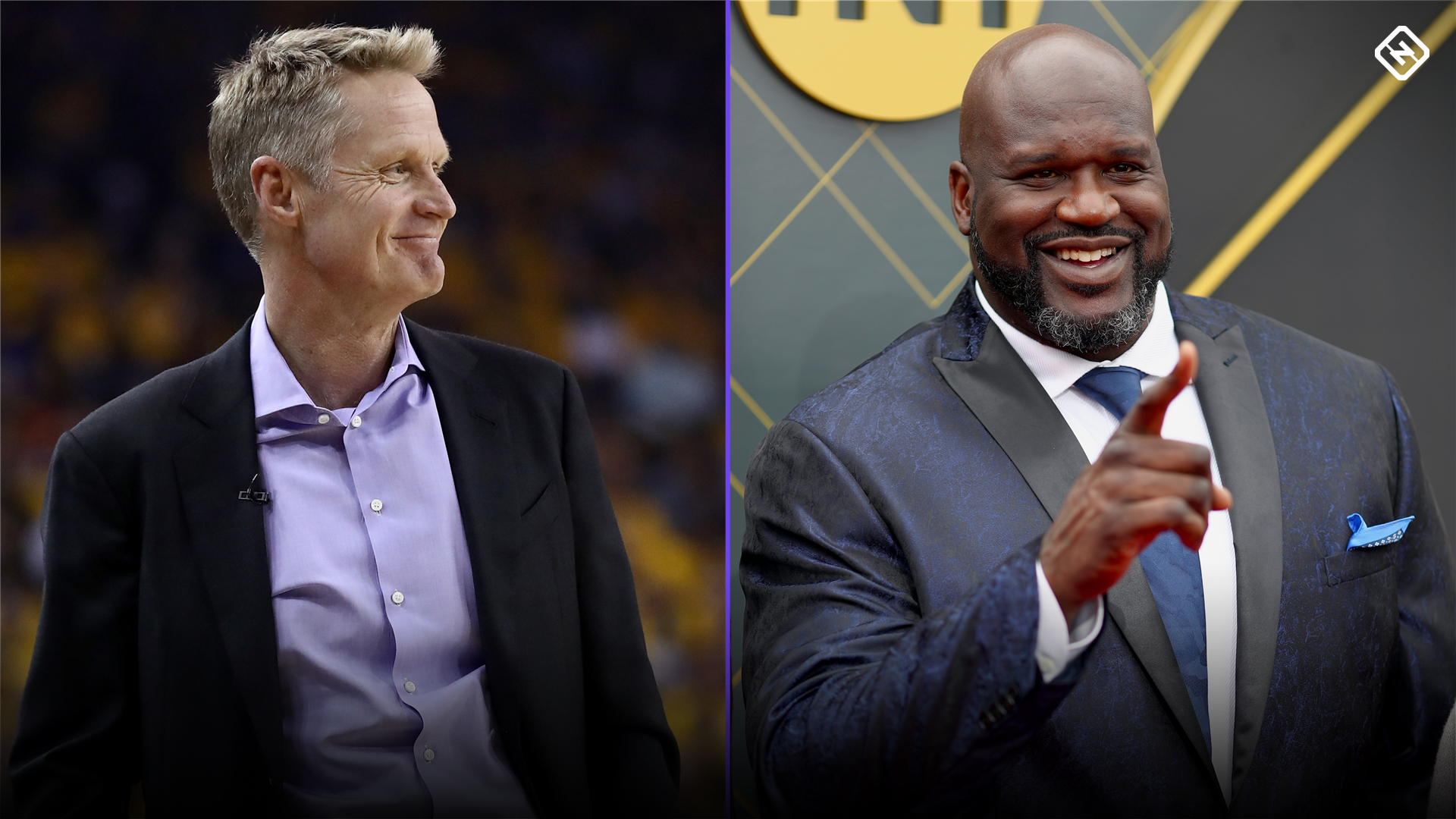 Steve Kerr calls on Shaq to keep promise he made 15 years ago